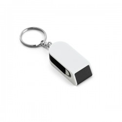 Keyring with phone holder