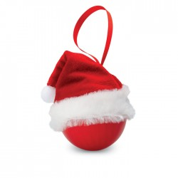 Xmas bauble with Santa hat