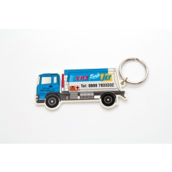 Lorry Shaped Keyring