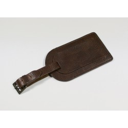 Greenwich Leather Luggage Tag
