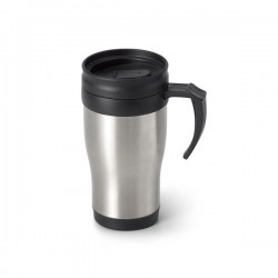 Stainless steel happy mug