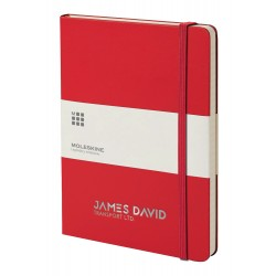 Moleskine HB Notebook Mini A4 Ruled (192 Pages)