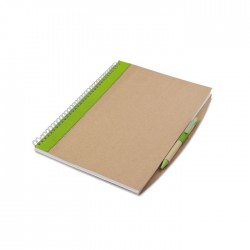 A4 Recycled Notebook With Pen