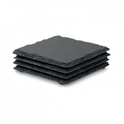 Slate coasters with EVA bottom