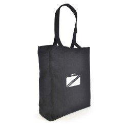 Dunham Black Canvas Bag