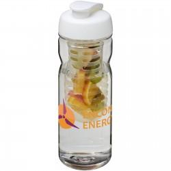 H2O Base Tritan™ 650 ml flip lid bottle & infuser