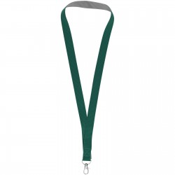 Rufus two-tone lanyard with velcro closure