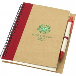 Callow notebook and pen