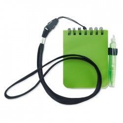 Notebook With Pen And Lanyard