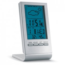 Weather Station With Blue Lcd