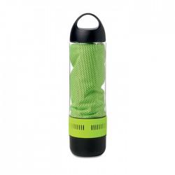 Bottle,Bt Speaker And Towel