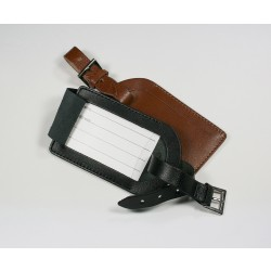 Eco Premium Leather Luggage Tag