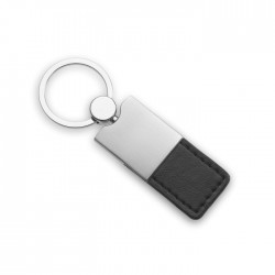 Carba Pu And Metal Key Ring