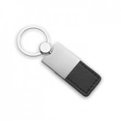 Carba Pu And Metal Key Ring