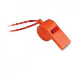 Whistle With Security Necklace