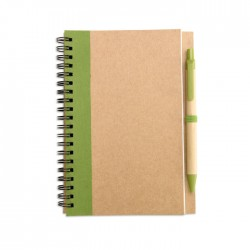 Cava Recycled Paper Notebook + Pen