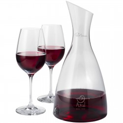 Blake decanter with 2 wine glasses