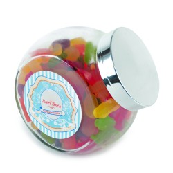 Large Glass Sweet Jar (315g-1.7kg)