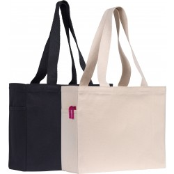 10oz Cotton Canvas Tote Shopper