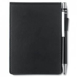 A7 Notebook In Pu Pouch