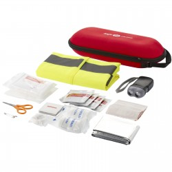 Bywell 46 piece first aid kit and professional safety vest