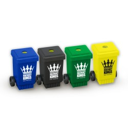 Recycled Pencils Sharpeners - Wheelie Bin