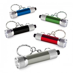 Mini cylinder torch keyring