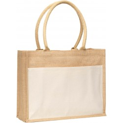 Whitehaven Jute Tote Bag