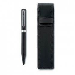 Amanda Metal Ball Pen And Pu Pouch