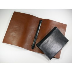 Eco Executive Leather A4 Ring Binder