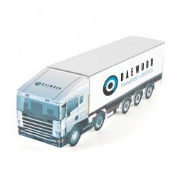 Large Delivery Van Sweet Card