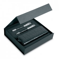 Pen Set And Pouch In Pu
