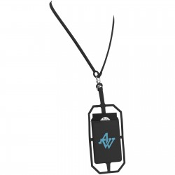 Quinn RFID Card Holder with Lanyard