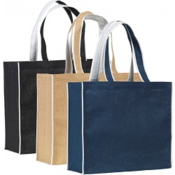 Tote Bag with piped edges