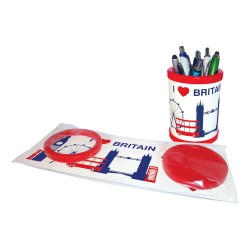 Pen Pot - Round Pen Pot - Flat Pack