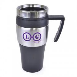 Malaga Steel Travel Mug