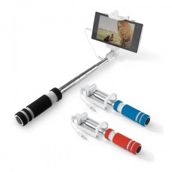Extendable monopod with cable