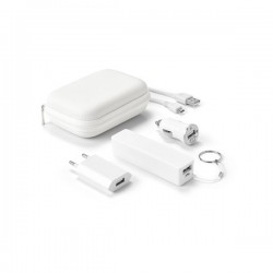 Battery and USB charger set