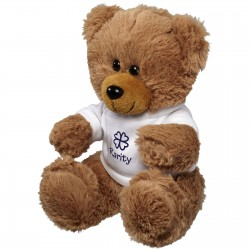 Oxted Plush Sitting Bear with Shirt
