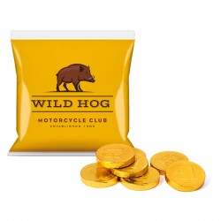 Flow Bag Chocolate Coins