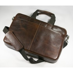 Greenwich Leather Laptop Bag