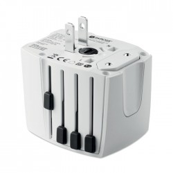 Muv USB. 2-Pole Travel Adaptor