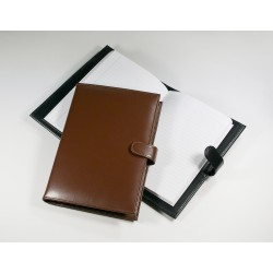 Marylebone Leather A5 Oversize Notebook with Clasp